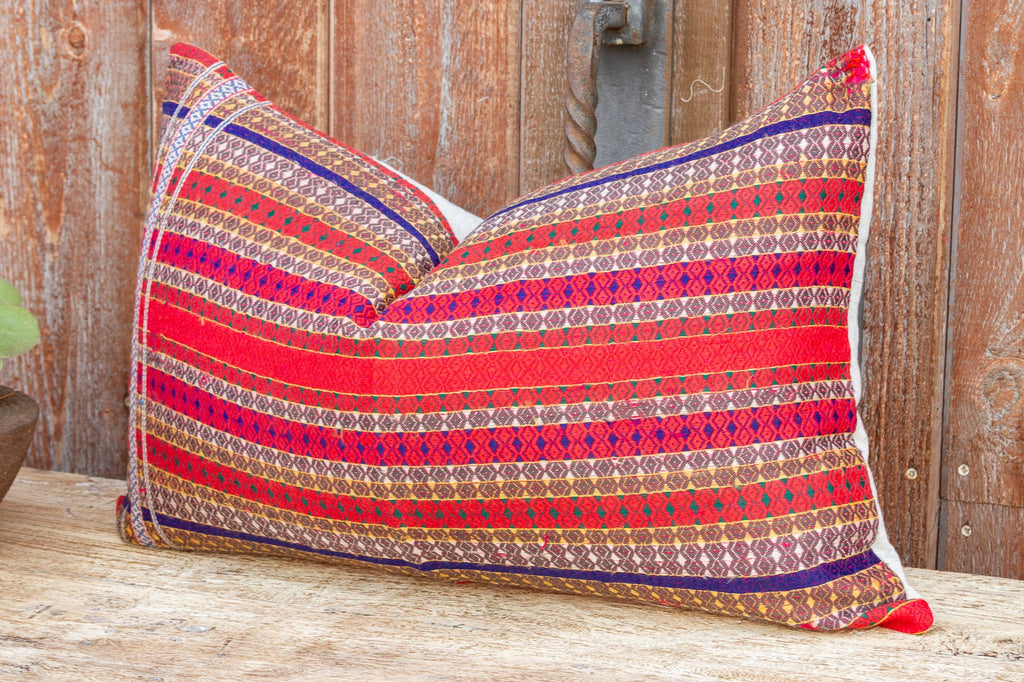 Fiona Mansehra Wedding Silk Shawl Pillow (Trade)