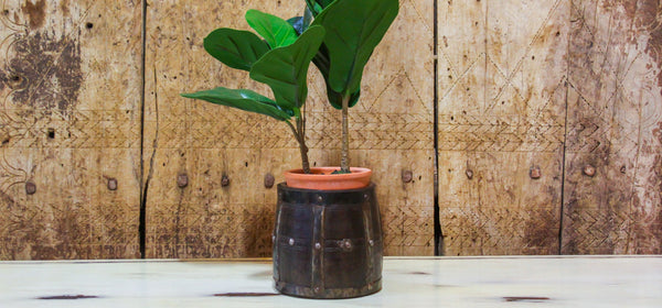 Primitive Wooden Planter