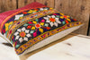 Soni Antique Mashru Tribal Square Pillow