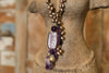 Murano Purple Necklace