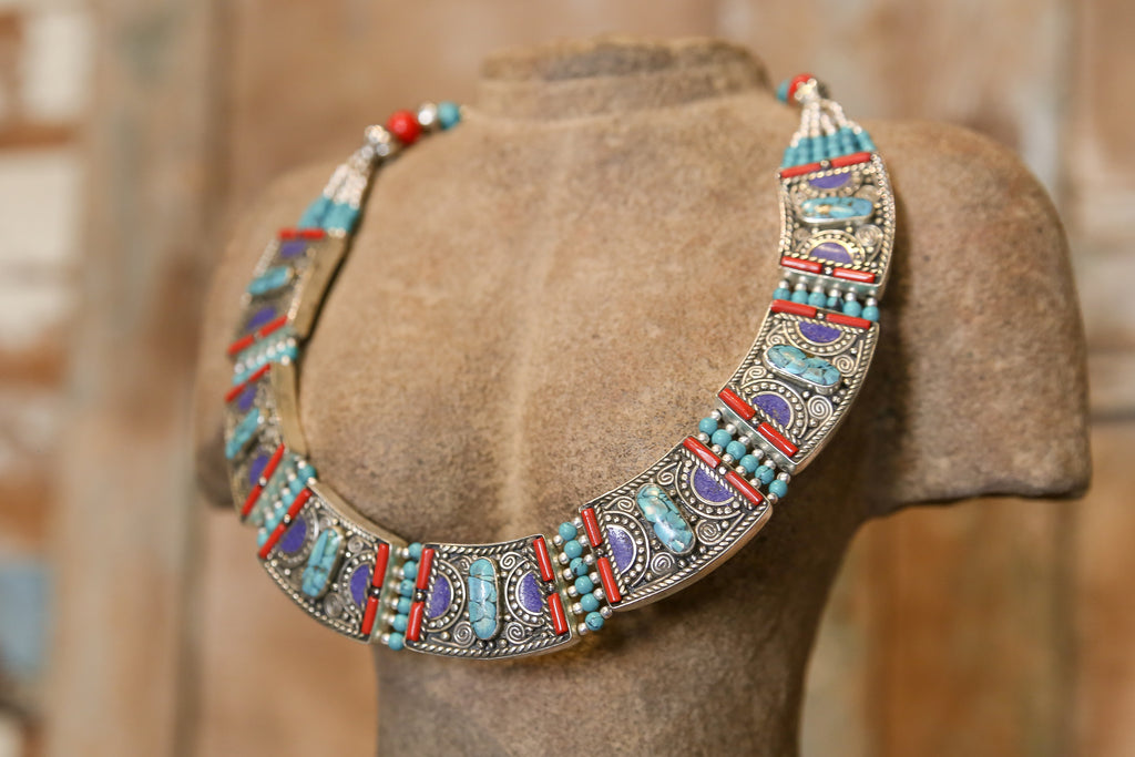 Trishala Tibetan Necklace