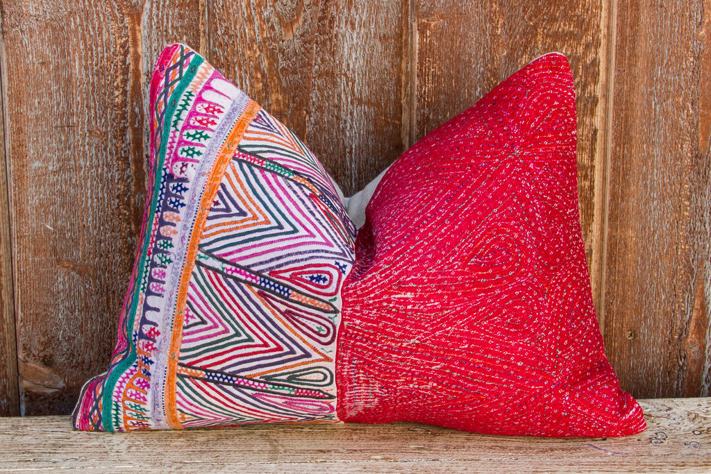 Ahan Kutch Tribal Pillow (Trade)