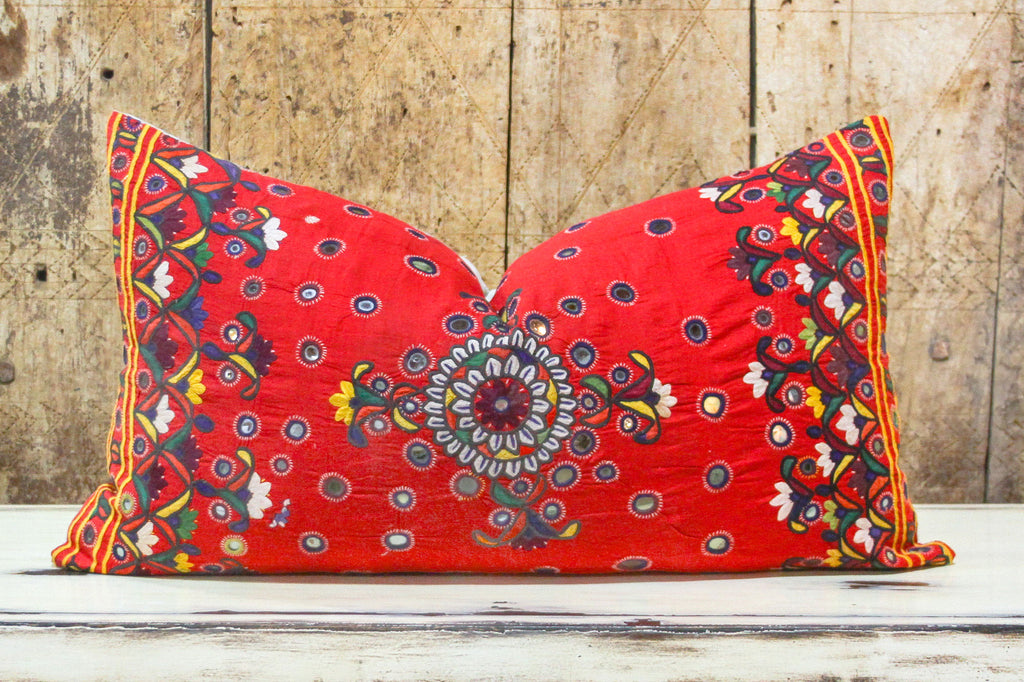 Bella Reshmi Sutra Lumbar Pillow