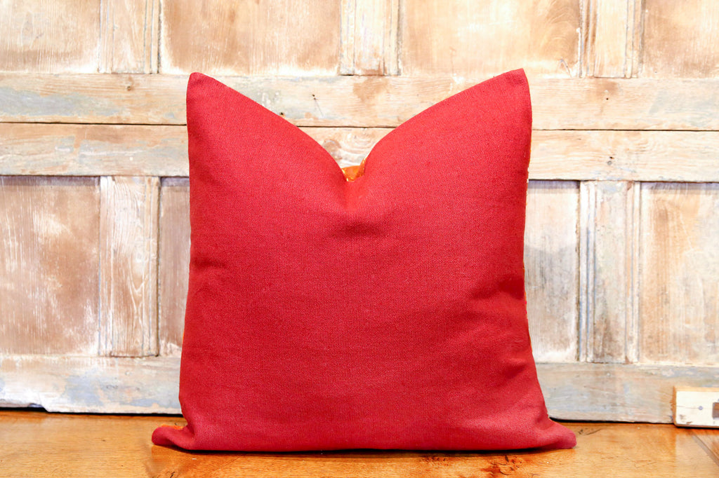 Mourvi Bagh Phulkari Pillow (square)