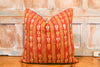 Shari Bagh Phulkari Pillow (square)