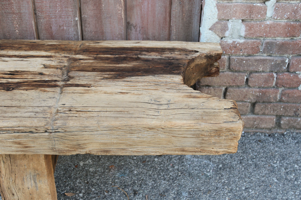 Early 19th Century Long Primitive Bench