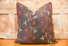 Nuwaira Bagh Phulkari Pillow (square)