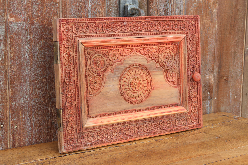 Painted Chinar Kashmir Wood Panel
