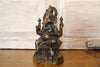 Brass Seated Ganesh Statue II