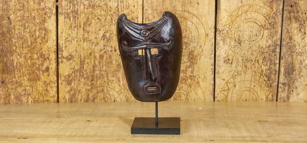 Conga African Mask on Stand
