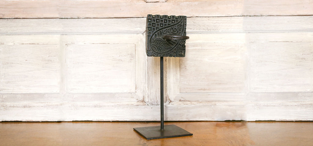 Block Print Votive Holder