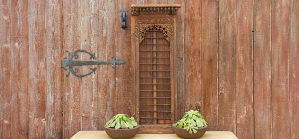 19th Century Thar Indian Spindle Door Frame