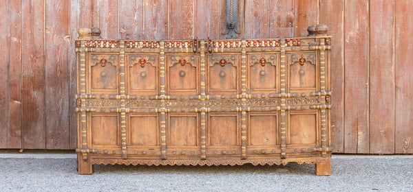 Magnificent 19th Century Dowry Chest