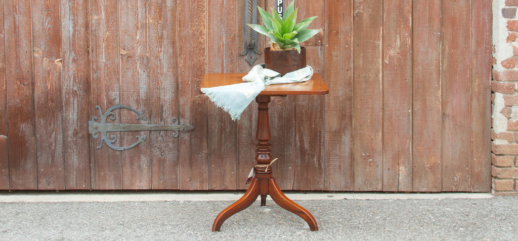 19th Century Square Tilt Top Table