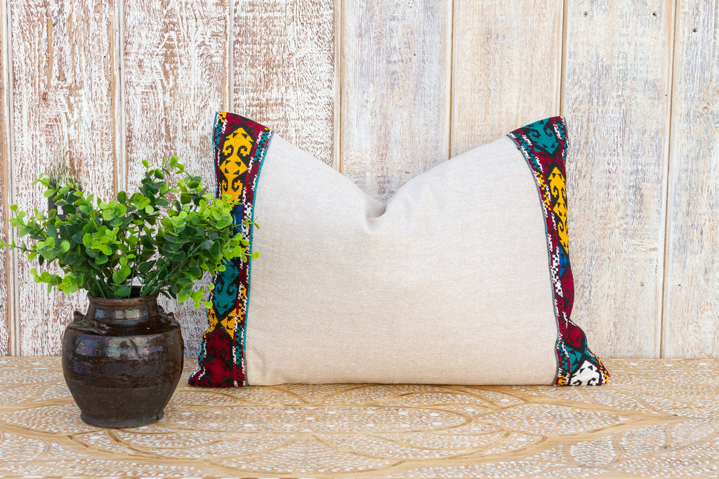 Silk Kantha Scarf (Purple & Pink)