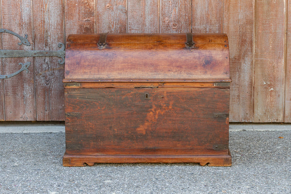 Antique Spanish Dome Top Trunk