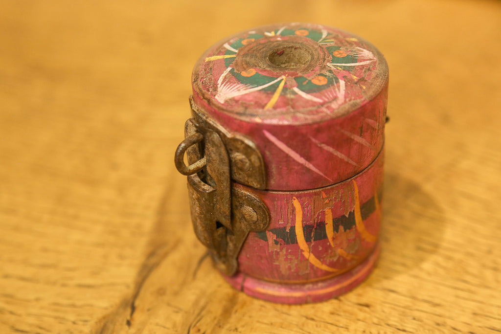 Rare Tikka Painted Container