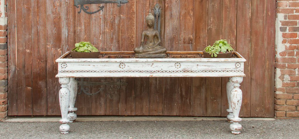 Antique Kerela Door Console Table