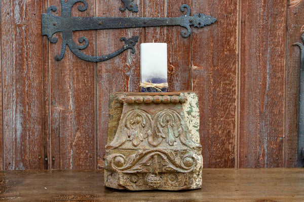 Nirzari Indian Architectural Candle Holder