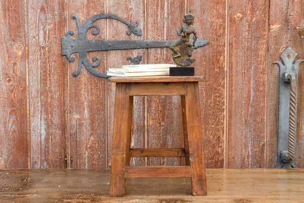Colonial Teak Farmhouse Stool