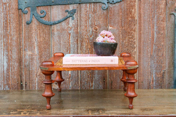 Ceylonese Dutch Colonial Cane Stool