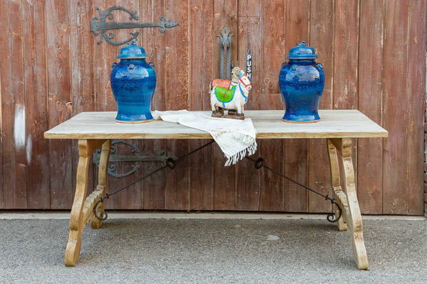 Spanish Farmhouse Bleached Wood Table