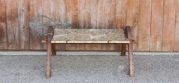 Silk Oxcart Coffee Table