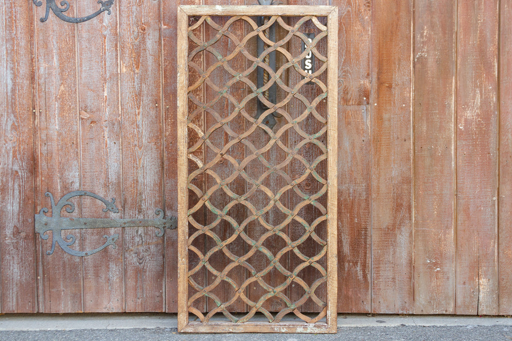 19th Century Trellis Window