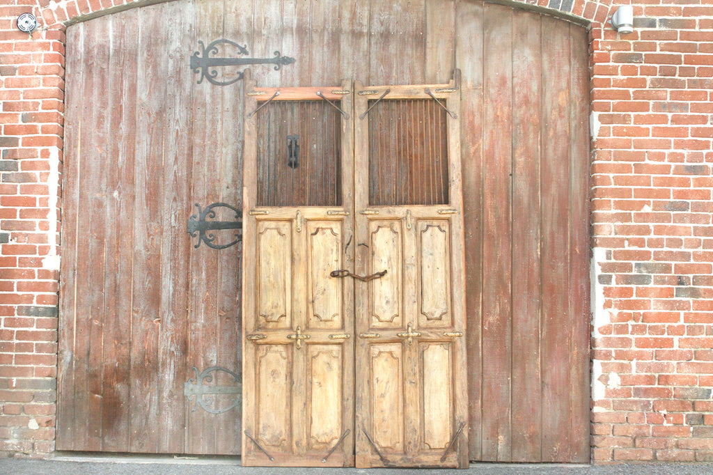 19th Century Spanish Colonial Bleached Doors