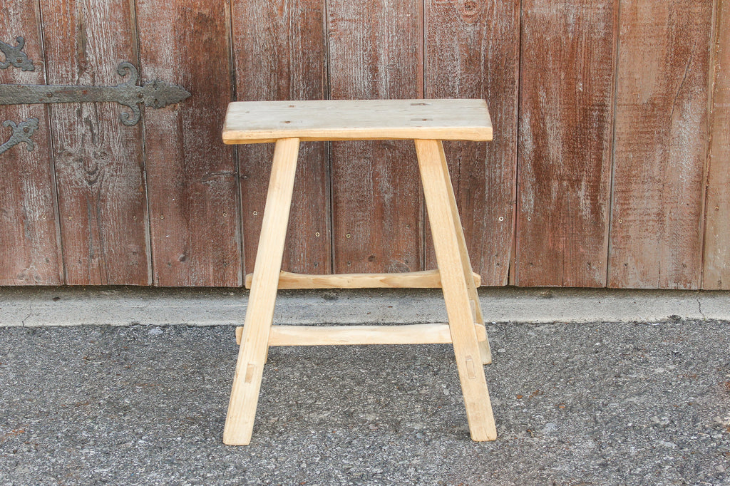 Shabby Chic Farmhouse Stool