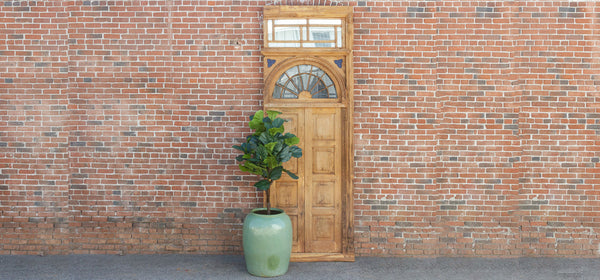 1800's Indo Portuguese Tall Door