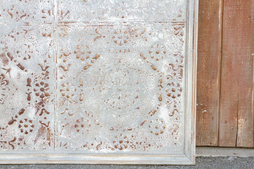Antique Steel Gray Tin Ceiling Panel