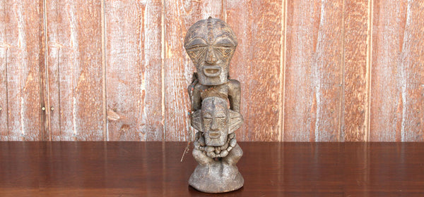 African Antique Tribal Carved Statue
