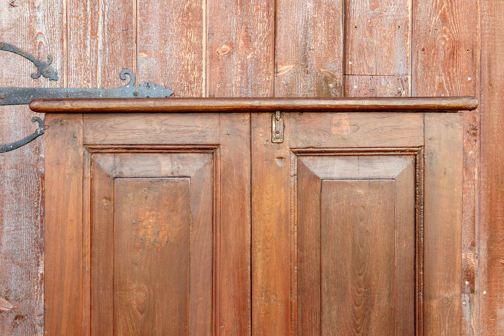 Antique Colonial Teak Armoire