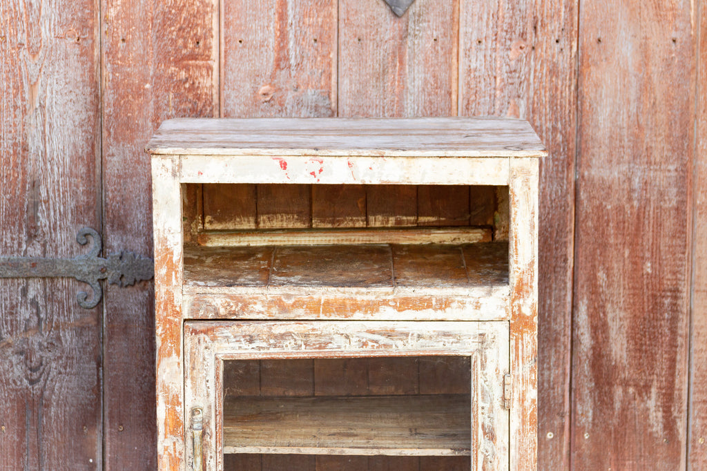 Shabby Chic Rustic Bedside Table