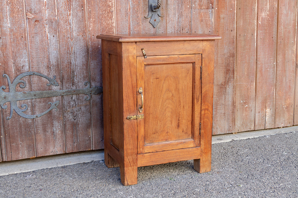 Small British Colonial Nightstand