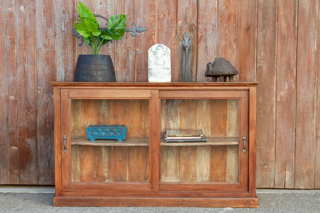 British Colonial Display Sideboard