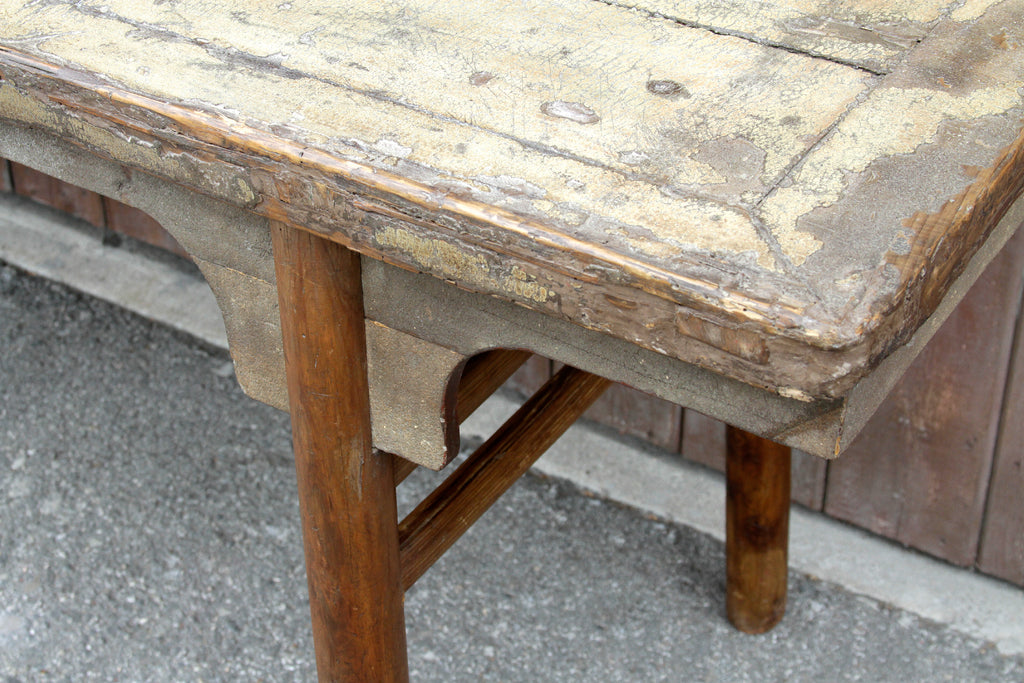 Striking Mid 18th Century Long Altar Table