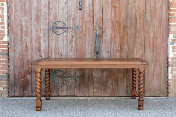 Barley Twist Dining Table