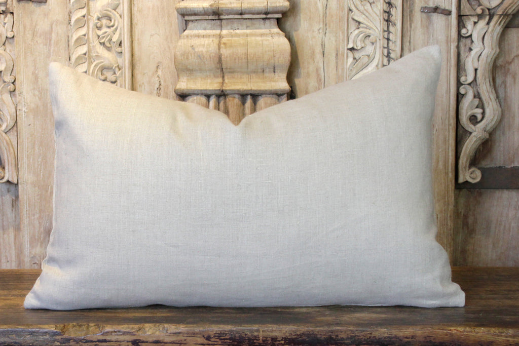 Akila Antique Suzani Lumbar Pillow