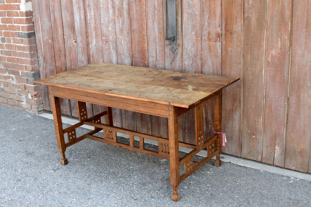 Rare Antique Arts And Crafts Table
