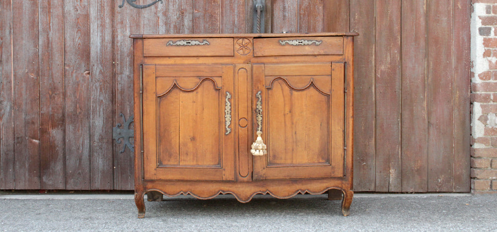 Antique French Fruitwood Louis XV Buffet
