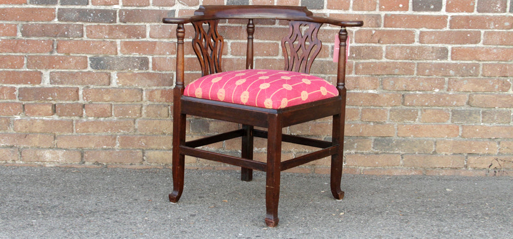 English Chippendale Corner Chair