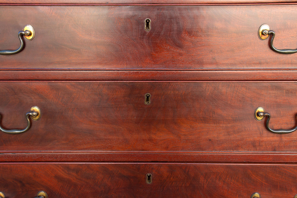 18th Century Mahogany George IV English Chest of Drawers