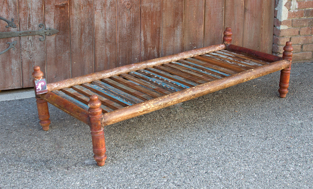 Long Slat Coffee Table