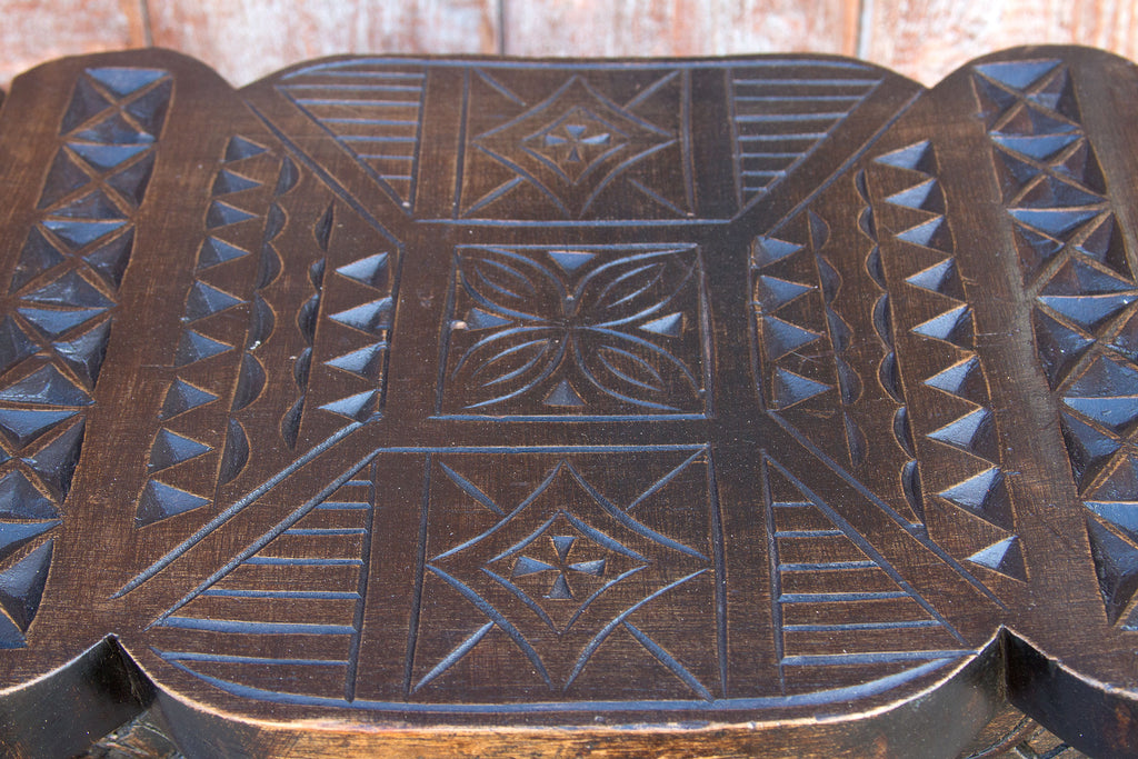19th Century Ashanti Carved Stool