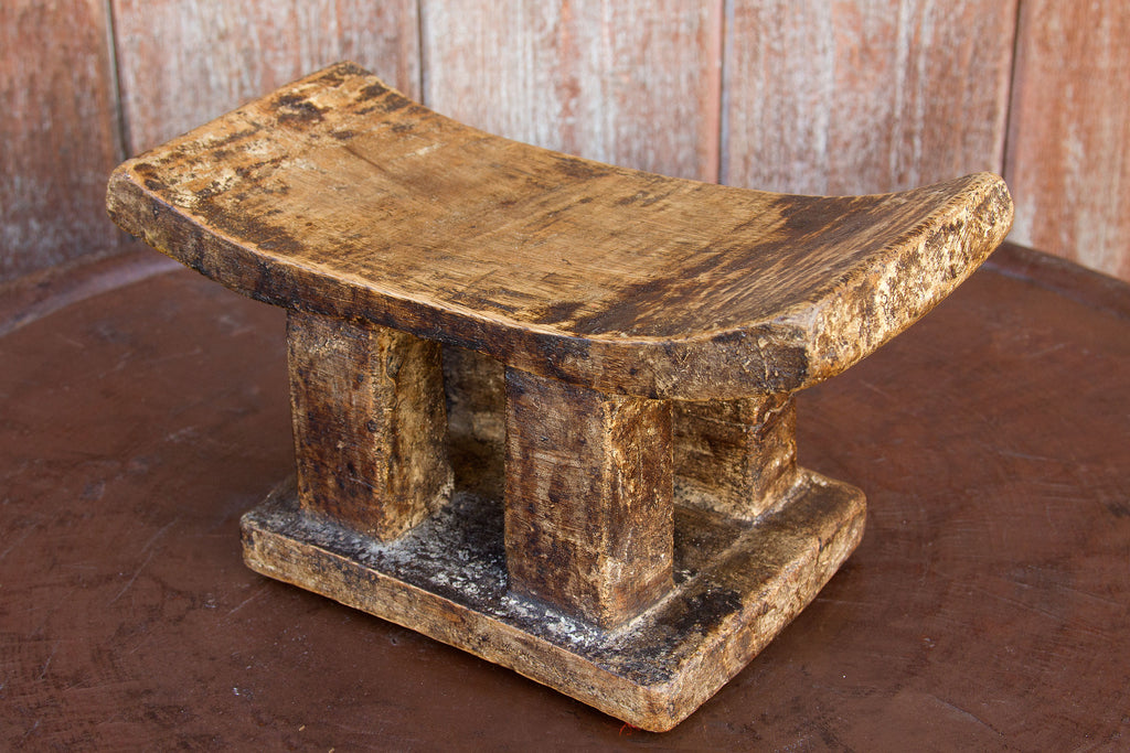 Antique Ashanti Headrest