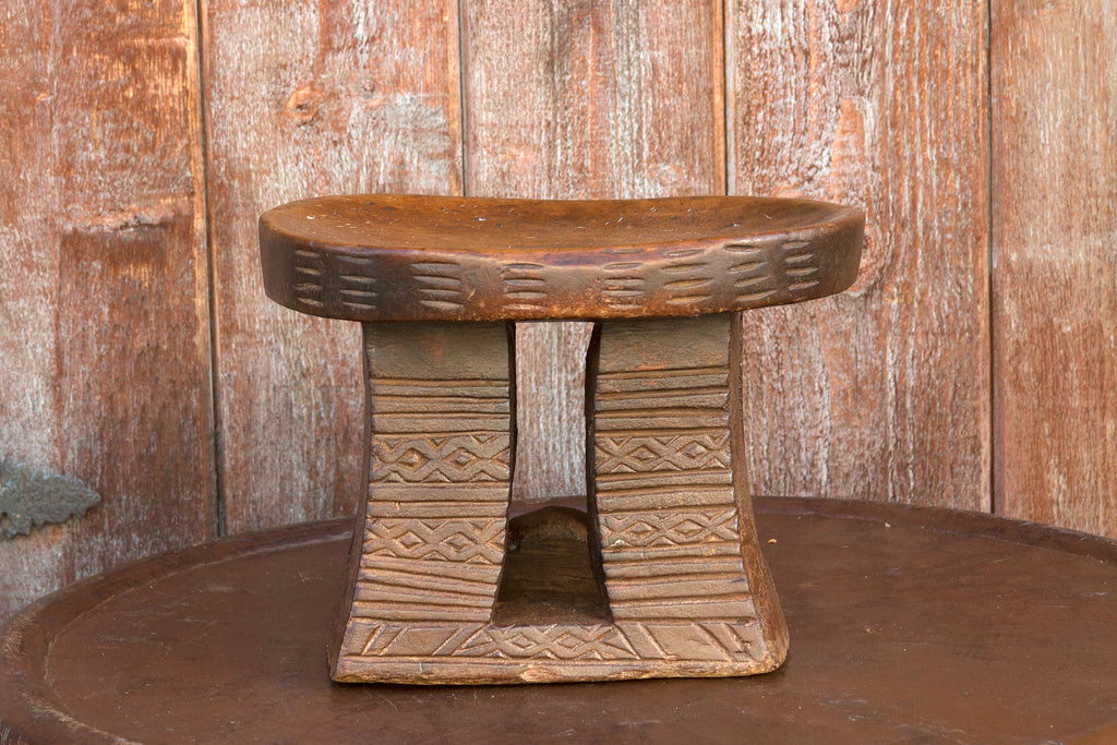 20th Century Carved Wood Dogon Stool
