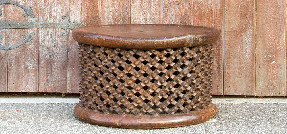 Antique Bamileke Carved Table