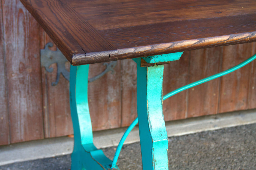 Vibrant Spanish Colonial Dining Table